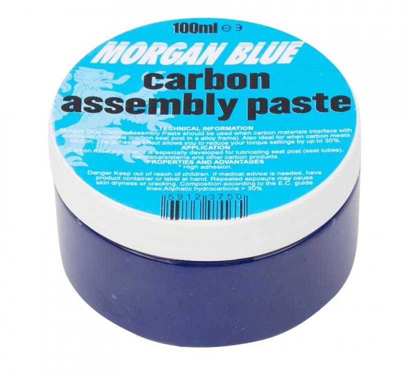 Morgan Blue Carbon Assembly Paste 100ml Kolfiberpasta