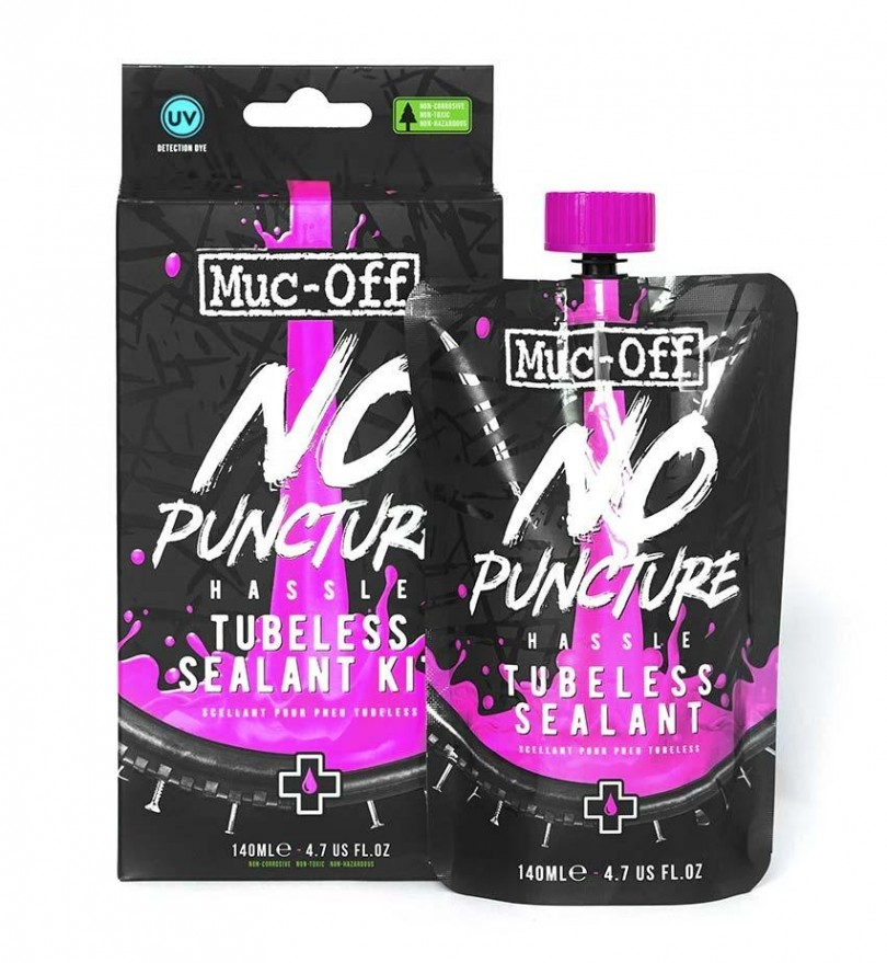 Muc Off No Puncture Hassle Tubeless Sealant Kit 140ml