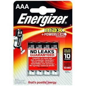 Energizer AAA batterier 4-Pack