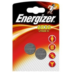 Energizer CR2032 Batterier 2-Pack