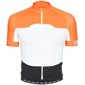 POC AVIP Ceramic Cykeltröja Orange/vit/svart