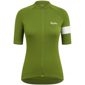 Rapha Women Core Jersey Cykeltröja Dam Green