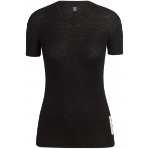 Rapha Women Merino Base Layer Short Sleeve Underställ Svart