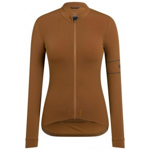 Rapha Women Pro Team Thermal Jersey Brown