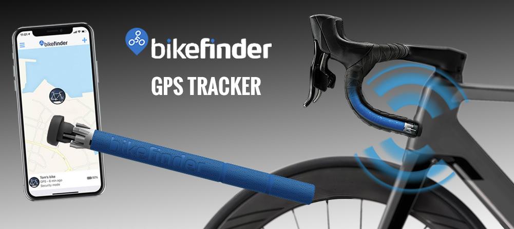 BikeFinder GPS tracker spårning för cykel
