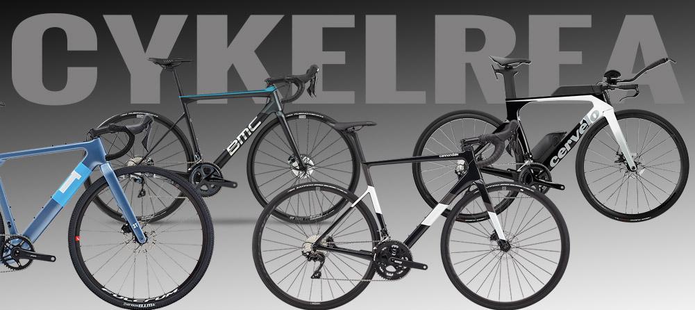 Cykelrea på Cervelo, Specialized, BMC, Santa Cruz, 3T och Cannondale