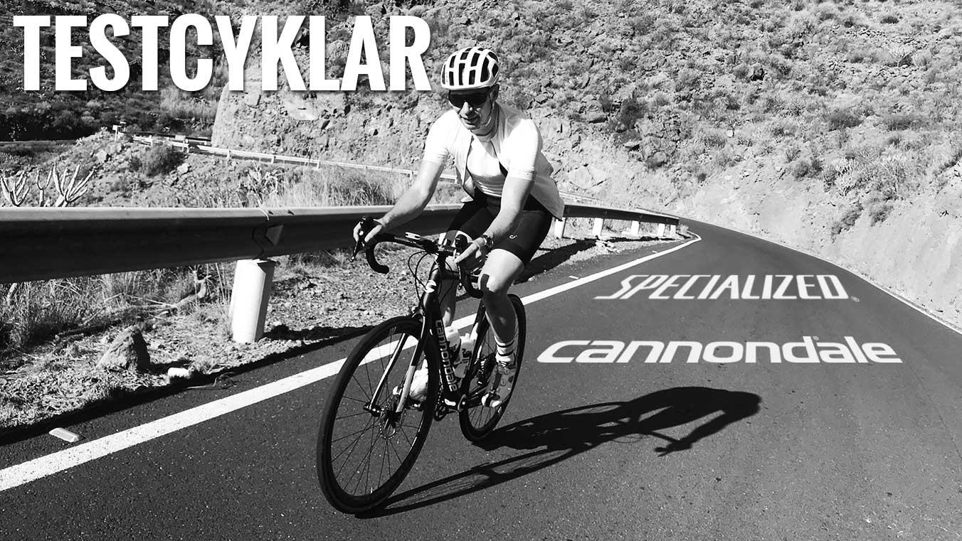 Testa våra cyklar på riktigt