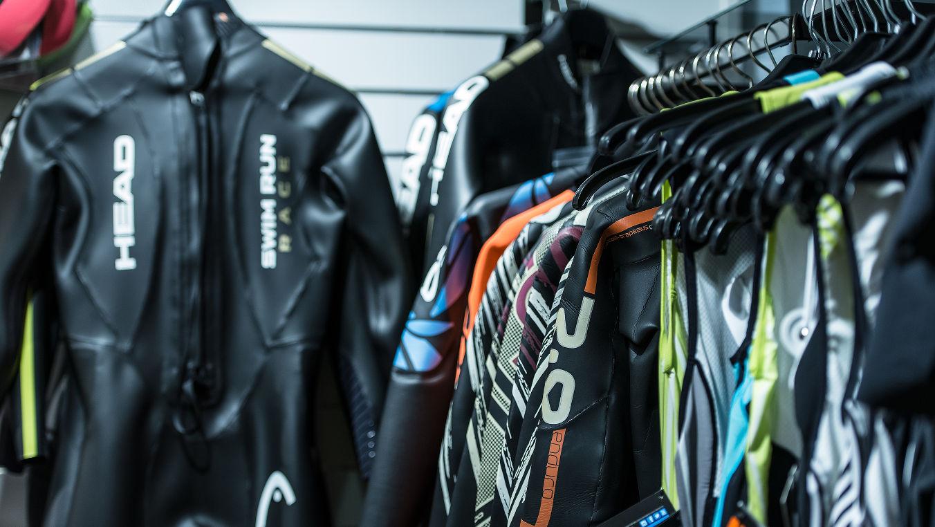 Triathlon och våtdräkter från Head och Orca hos CykelCity Stockholm