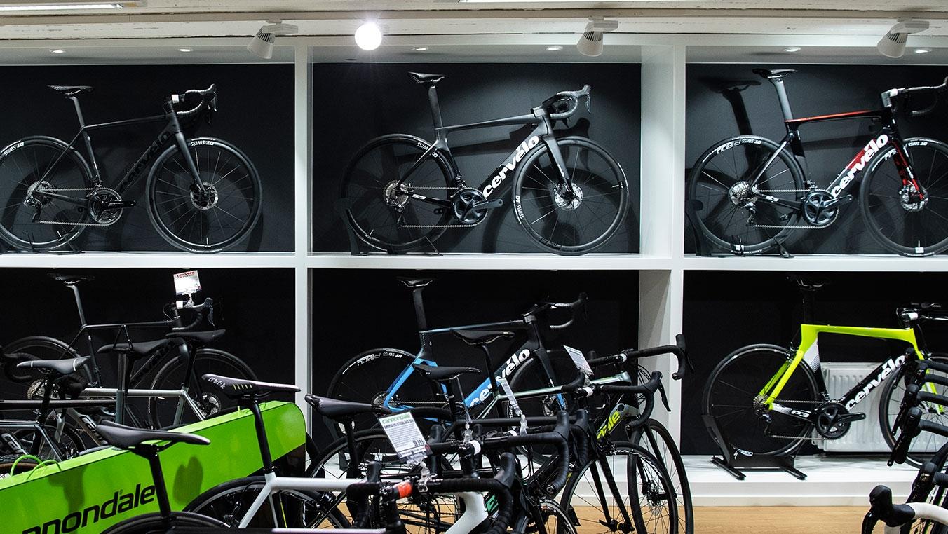 Cervelo-cyklar hos CykelCity