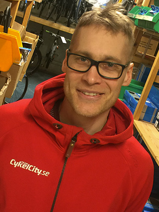 CykelCity Stockholm Daniel