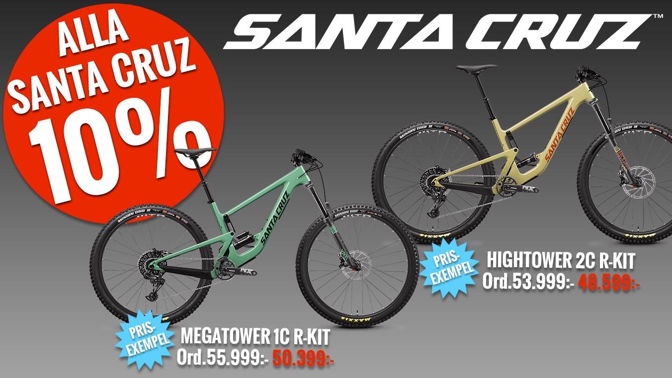 Santa Cruz-cyklar